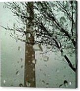 Rainy Day At The Washington Monument Acrylic Print