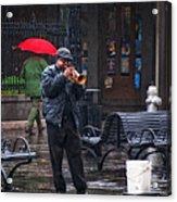 Rainy Day Blues New Orleans Acrylic Print