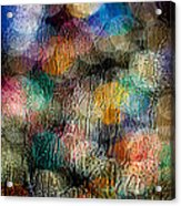 Rainy Day Christmas Acrylic Print