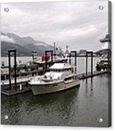Rainy Day Dock Acrylic Print