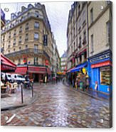 Rainy Day In Paris Acrylic Print