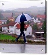 Rainy Day In Sembach Acrylic Print