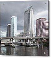 Rainy Day In Tampa Acrylic Print