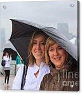 Rainy Day In The Big City Acrylic Print