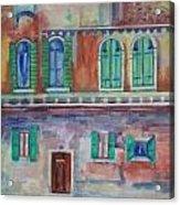 Rainy Day In Venice Italy Acrylic Print