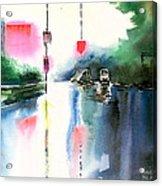 Rainy Day New Acrylic Print