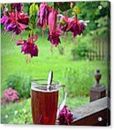 Rainy Day Tea Acrylic Print