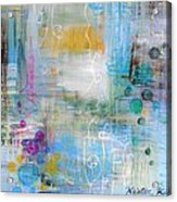 Rainy Garden Acrylic Print