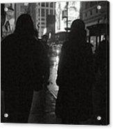 Rainy Night On Seventh - Duo Acrylic Print
