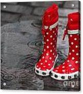 Rainy Season In Germany Acrylic Print
