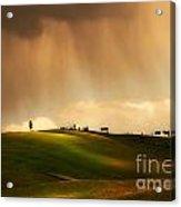 Rainy Sunny Toscany Acrylic Print