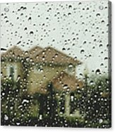 Rainy Tropics Acrylic Print