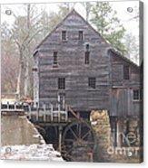 Rainy Yates Mill Acrylic Print