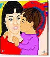 Raising Son Acrylic Print