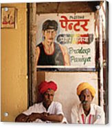 Life Of Rajasthan Acrylic Print