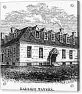 Raleigh Tavern, 1770s Acrylic Print