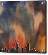 Raleigh Thunderstorm Acrylic Print