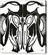 Ram Head Acrylic Print