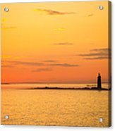 Ram Island Light Casco Bay Maine Acrylic Print