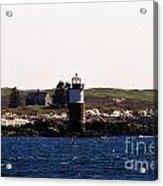 Ram Island Lighthouse In Maine Acrylic Print