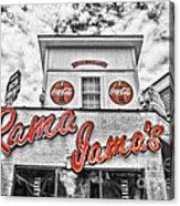 Rama Jama's Acrylic Print by Scott Pellegrin