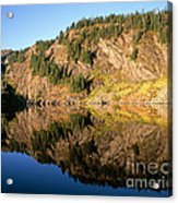 Rampart Ridge In Rachael Lake Acrylic Print