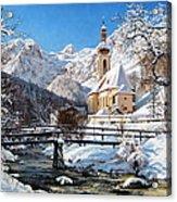 Ramsau Church Germany Acrylic Print