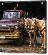 Ranch Transportation Acrylic Print