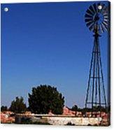 Ranch Windmill Acrylic Print