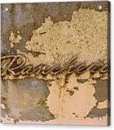 Ranchero  Acrylic Print