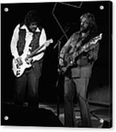 Randy And C.f. Rockin Out In Spokane In 1976 Acrylic Print