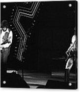 Randy And Blair 1976 Acrylic Print