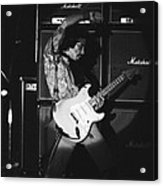 Randy Hansen Playing For Jimi 1978 Acrylic Print