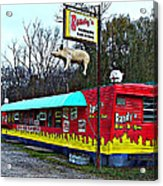 Randy's Roadside Bar-b-que Acrylic Print