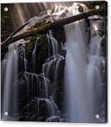 Ranger Falls Sunbeams Acrylic Print