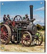Ransomes Steam Engine Acrylic Print