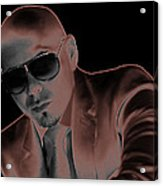 Rap Pitbull Acrylic Print