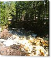 Rapids At The Riverbend Acrylic Print