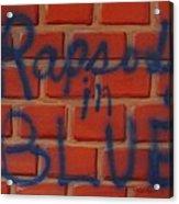 Rapsody In Blue Acrylic Print