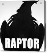 Raptor Spc Work A Acrylic Print