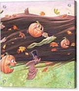Rapunzel's Halloween Acrylic Print