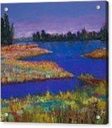 Raquette Lake Acrylic Print