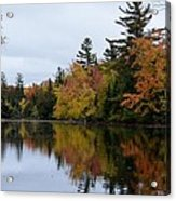 Raquette River Reflections Acrylic Print