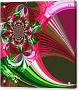 Raspberry Garden Acrylic Print