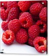 Raspberry Red Acrylic Print