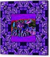 Rattlesnake Abstract Window 20130204m133 Acrylic Print