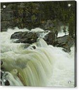 Rauma Waterfall Panorama Acrylic Print