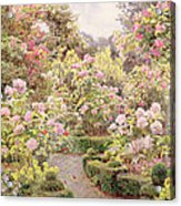 Raundscliffe - Everywhere Are Roses Acrylic Print