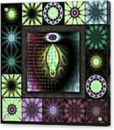 Ravaged Visions Redux Acrylic Print