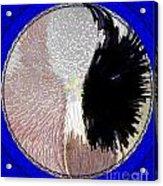 Raven-wold Mandala Yantra Acrylic Print
